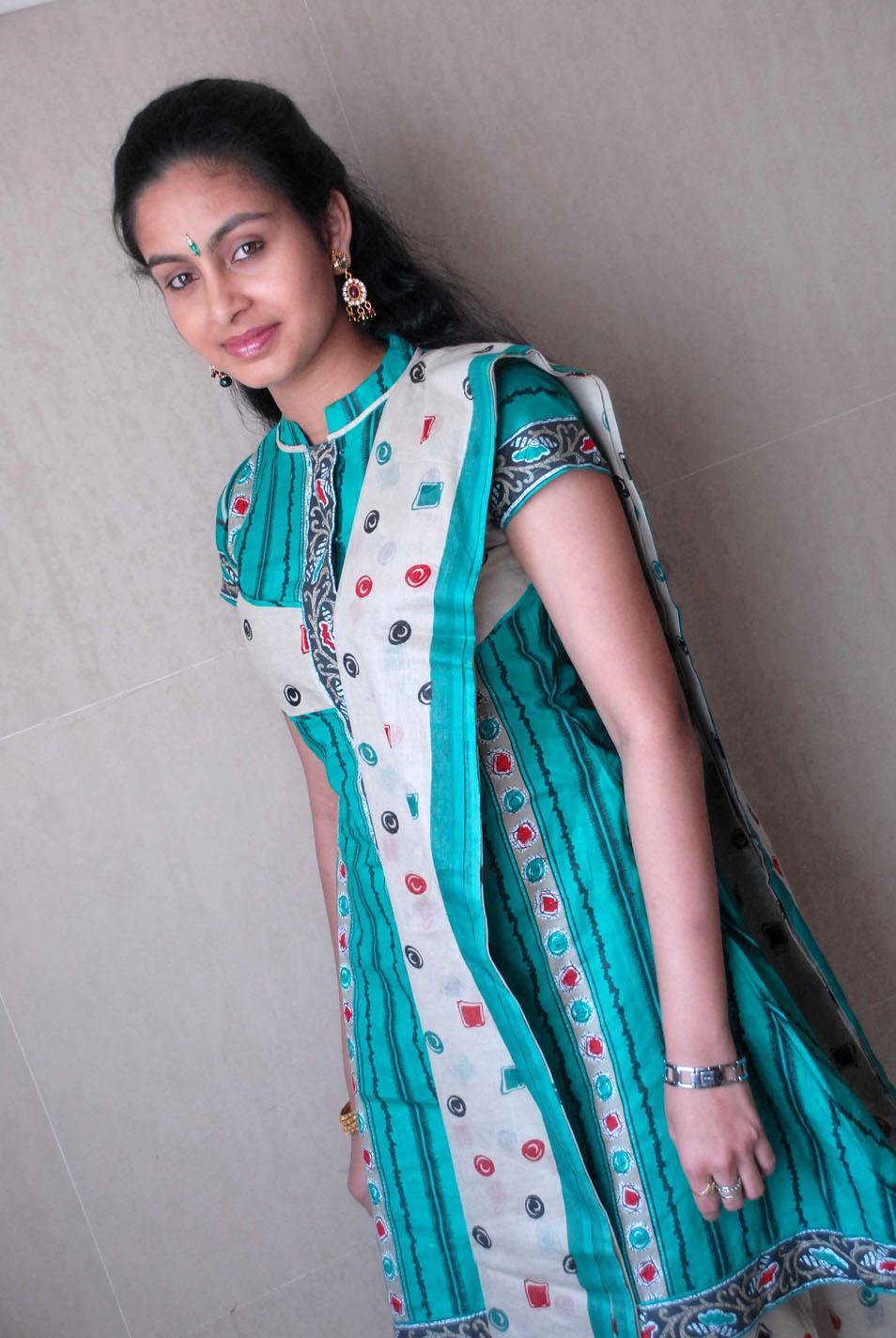 Abhinaya Cute In Punjabi Dresshot Photo City-6452