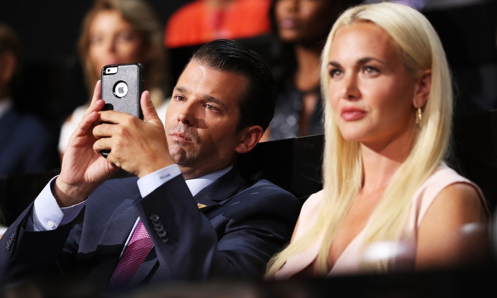 DownWithTyranny!: No, Trump, Jr  Didn't Give Vanessa Crabs