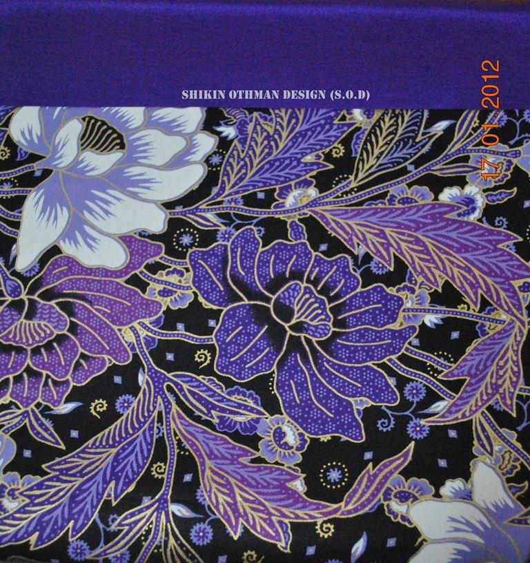 Shikin Othman Design (S.O.D): Batik Cop With Thai Silk