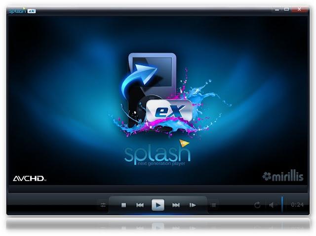 চমৎকার একটা ডিভিডি প্লেয়ার একটিভেশান কি সহ( Mirillis Splash PRO EX 1.13.0 Final )