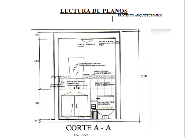 Manual de lectura de planos ingenier a civil descarga de for Planos ingenieria civil