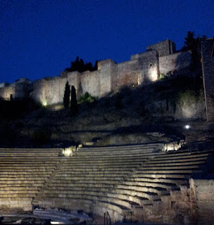 Alcazaba Fort and Roman theatre