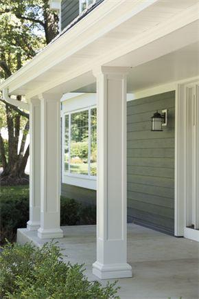 Gambar Teras Rumah Klasik : gambar, teras, rumah, klasik, Inspirasi, Model, Tiang, Teras, Rumah, Modern, Rumahku