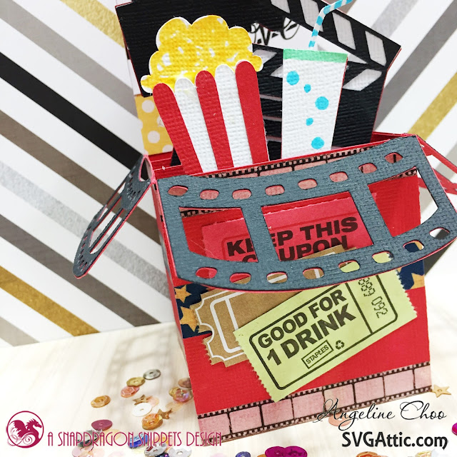 ScrappyScrappy: Love Movie Box with SVG Attic #scrappyscrappy #svgattic #unitystampco #card #cardmaking #svg #diecut #papercraft #craft #stamp #stamping #valentine #movie #boxcard