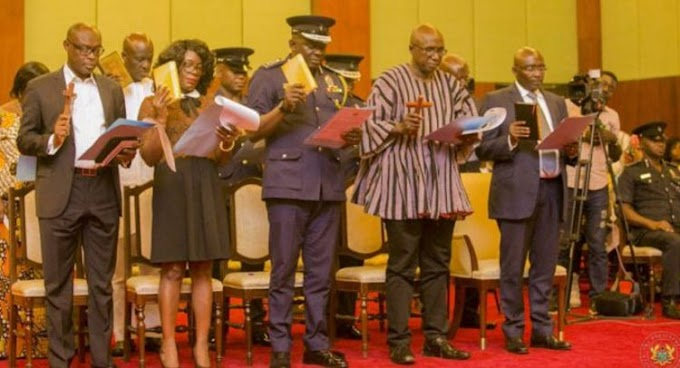 President Akufo-Addo Swears In Police Council