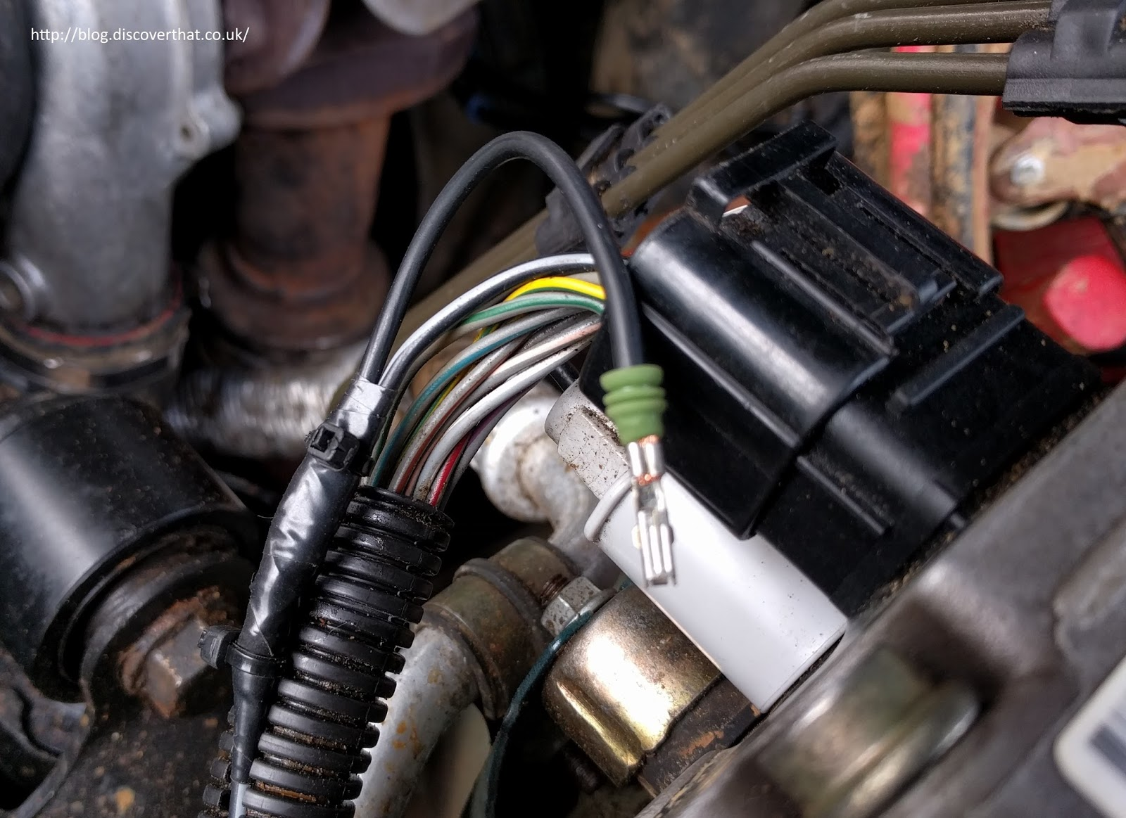 Discoverthat Discovery 2 Abs Repair Land Rover Wiring Diagram I Taped It Up Securely As Also Did With The Now Redundant Loose End On Modulator Switch Lead