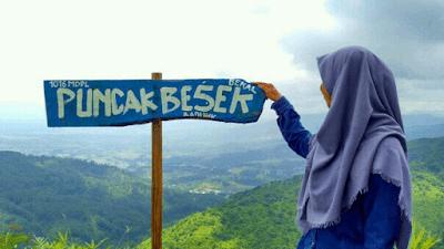 Bukit Besek, Ini 5 tempat liburan yang instagramable di jawa tengah