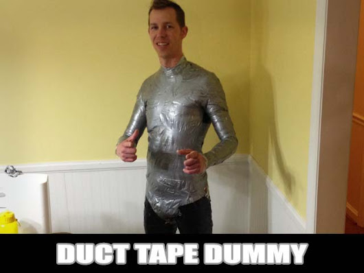 Duct Tape Dummy / Make a Mannequin