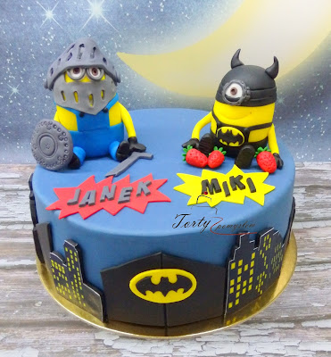 tort minionki rycerz i batman