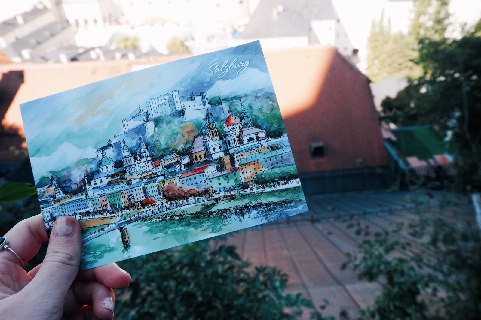 Postcards of Salzburg