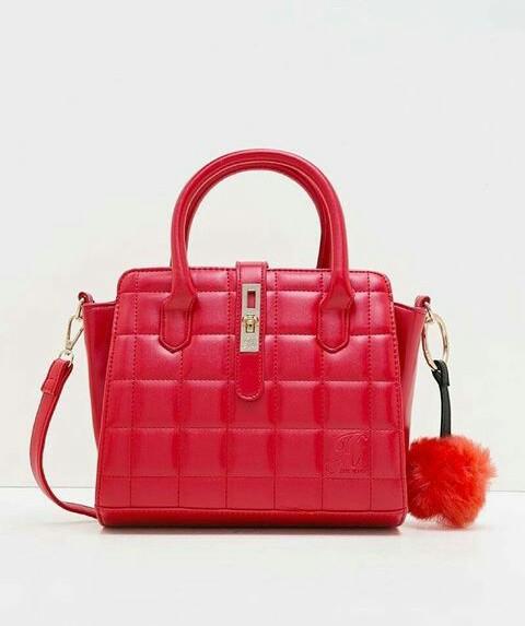 Jims Honey Pillow Bag Red