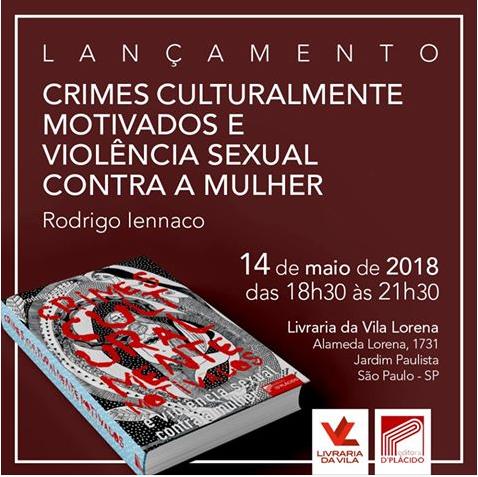 Convite do acadêmico Rodrigo Iennaco