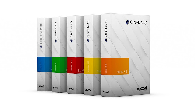 تحميل برنامج سينما فور دي Cinema 4d R18