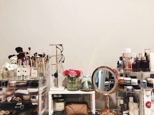 Make up, perfume, skincare, beauty