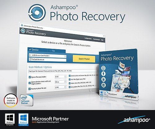 Download Ashampoo Photo Recovery 1.0.5 Portable Software