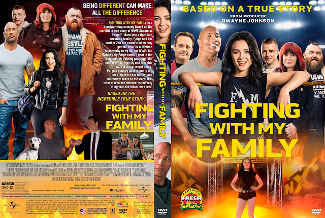 Fighting with My Family DVD DVD Cover