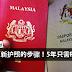 上网更新护照的步骤!更新5年只需RM200!上网更新超方便的!