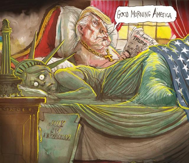Good morning, America Cartoon