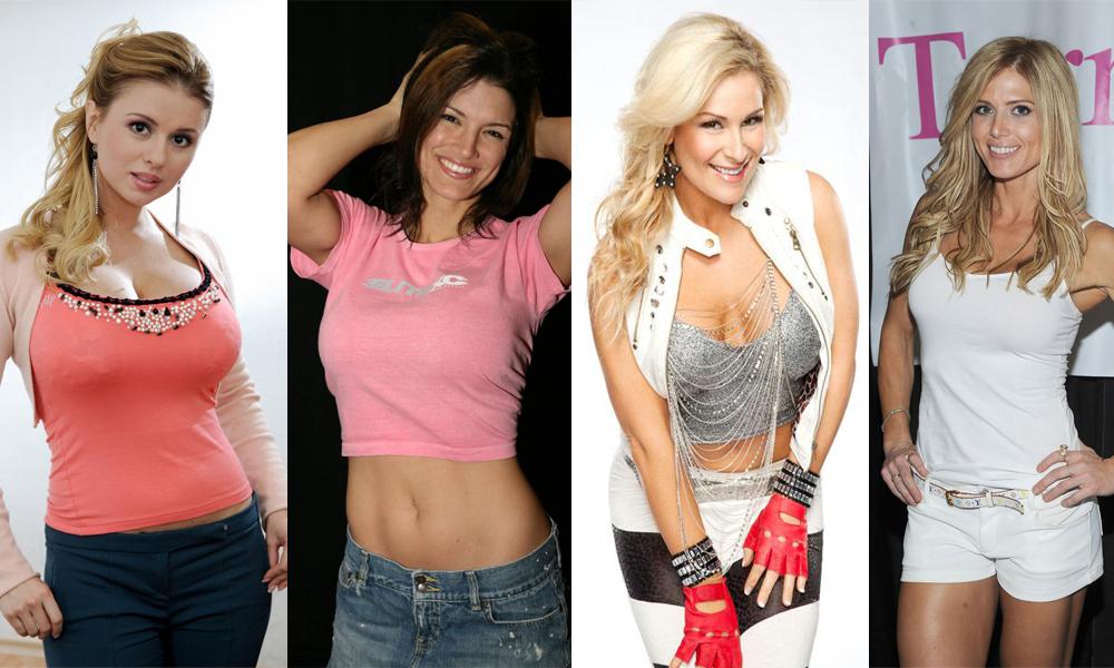 15 Atlit Paling Seksi dengan Ukuran Dada Besar Gina Carano ana Ivanovic Petenis dan atlet