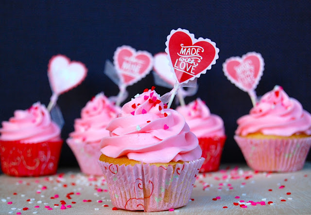 Walentynki Cupckaes