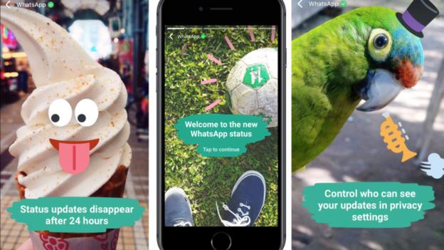 """Qué son y cómo se usan los nuevos """"Estados"""" de WhatsApp al estilo de Snapchat que desaparecen en 24 horas"""