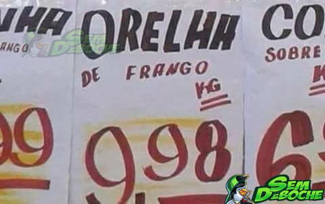 ORELHA DE FRANGO
