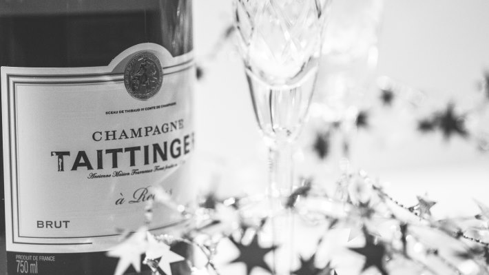 Wallpaper 2: Champagne Bottle
