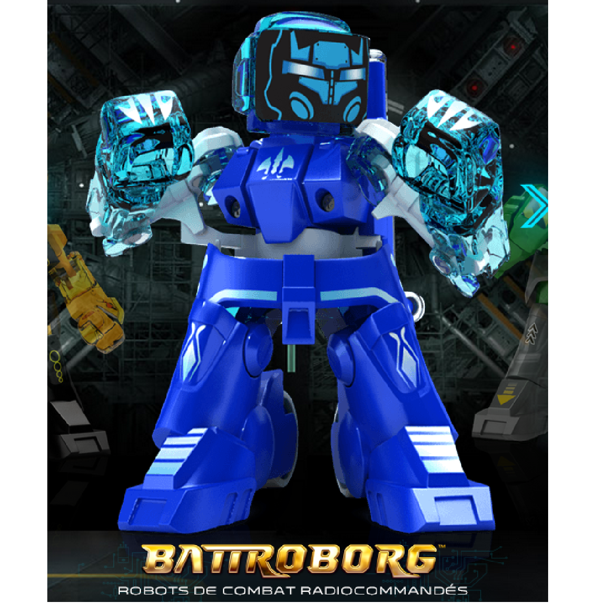 Battroborg, un jeu de combat interactif pour enfant