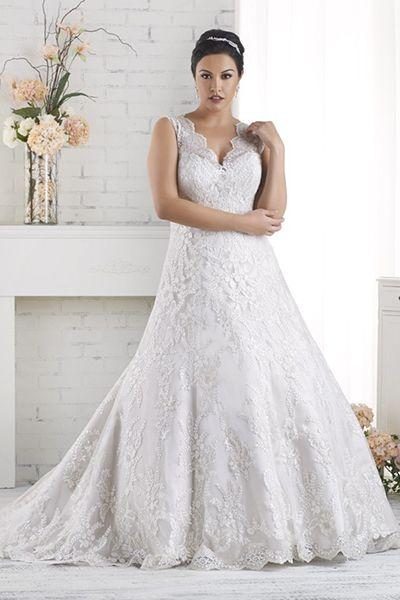 Clasico vestido de novia