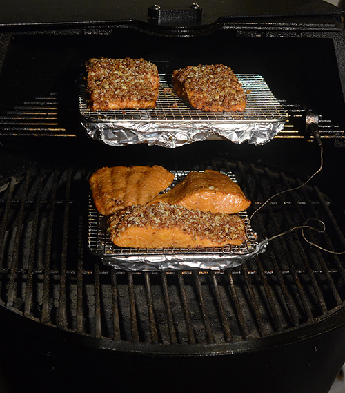 The Grilla pellet cooker is simple to use for smoking, roasting, and braising.  Here's how I make salmon on a pellet cooker.