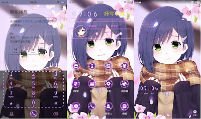 Anime Girl Theme itz For Vivo