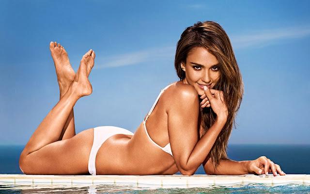 Jessica Alba Entertainment Weekly Bikini - Jessica Alba Hot Bikini Images-60 Most Sexiest HD Photos of Fantastic Four fame Seduces Us Atmost