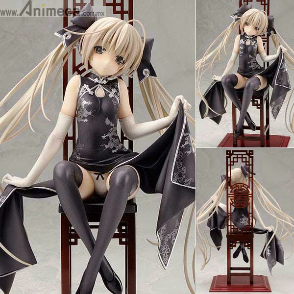 SORA KASUGANO Black Chinese Dress Ver. FIGURE YOSUGA NO SORA ALTER