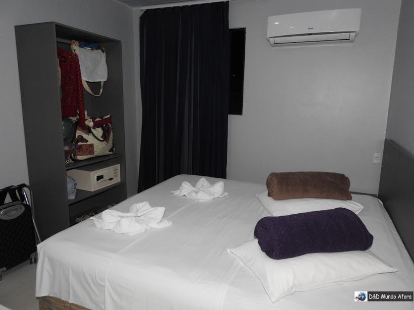 Dica de hotel bom e barato em Fortaleza - review hotel Aquarius