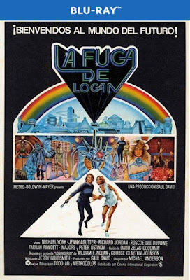 Logan's Run 1976 BD25 Spanish