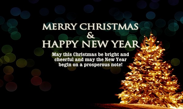 Happy New Year and Merry Christmas Images and Quotes