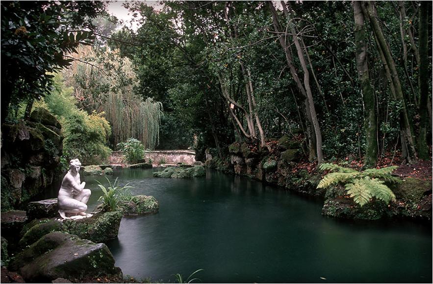 La gardenia nell 39 occhiello magia naturale il parco della - Reggia di caserta giardini ...