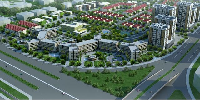 Phối cảnh nhà ở xã hội Tiên Dương NOXH Green Link City Tiên Dương Đông Anh