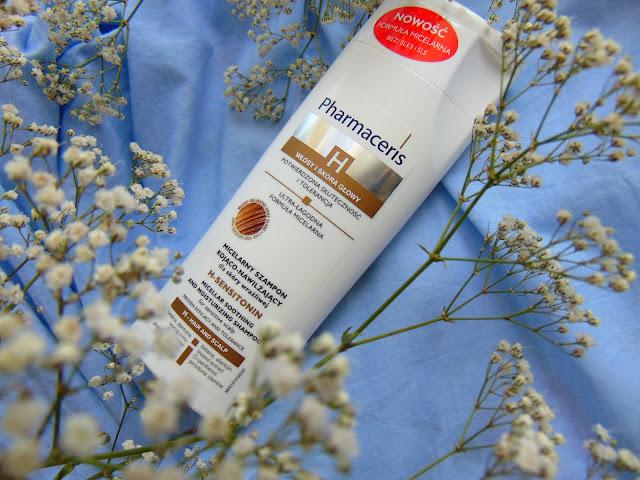 HIT - Pharmaceris - Micelarny szampon kojąco - nawilżający dla skóry wrażliwej H-Sensitonin z nową formułą bez SLES i SLS