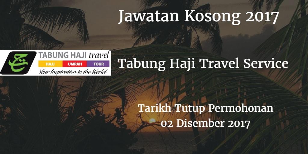 Jawatan Kosong Tabung Haji Travel Service 02 Disember 2017