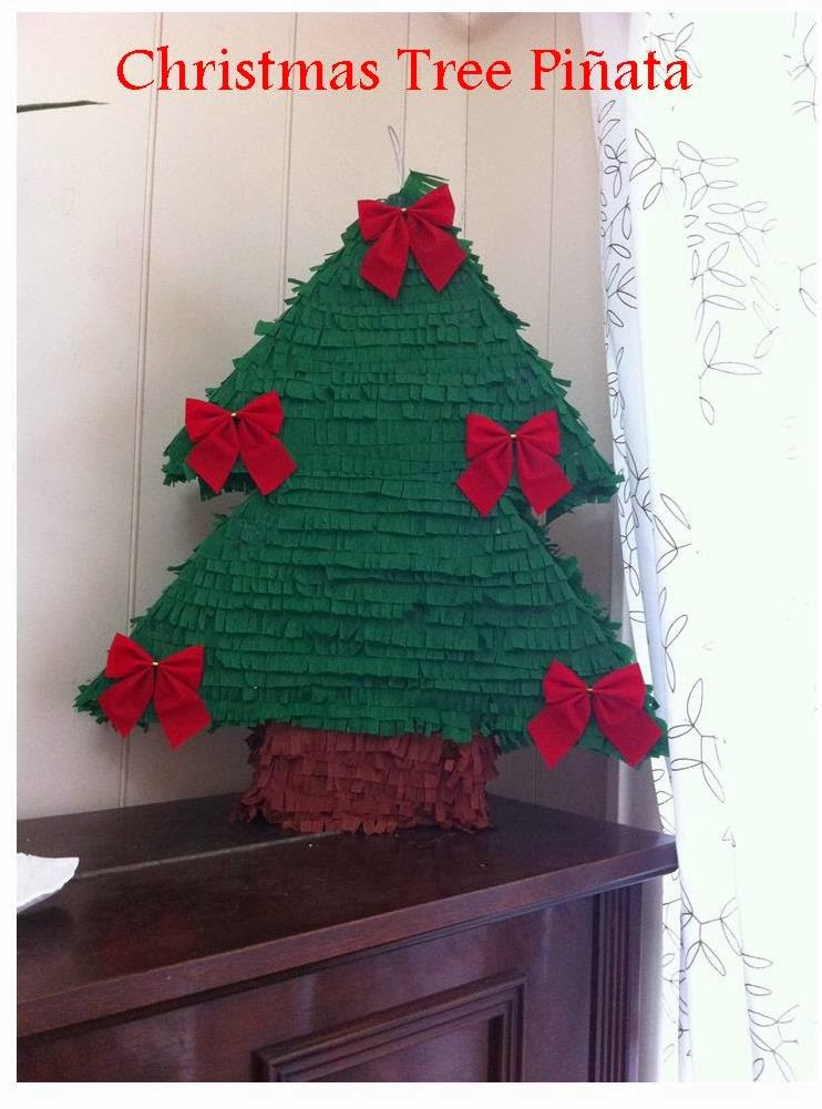 This Girl Loves To Talk Christmas Tree Pinata