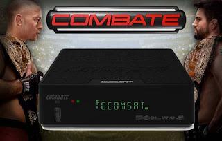 TOCOMSAT COMBATE HD NOVA ATUALIZAÇÃO V 2.037 - 30/04/2017