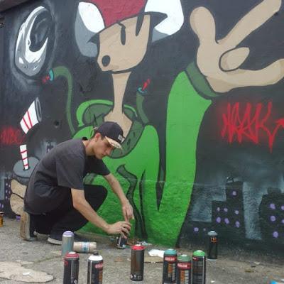 trok graffiti coguma
