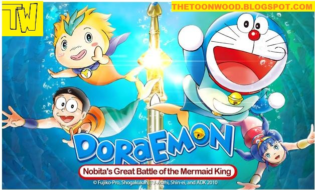 Doraemon Movie : Nobita's Great Battle of the Mermaid King In HINDI Full Download