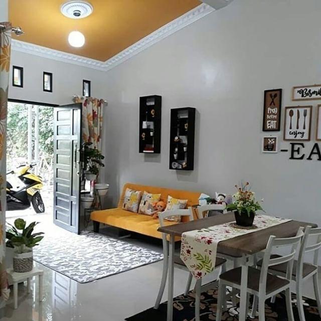 Dekorasi Ruang Keluarga Dengan Penataan Yang Simpel ...