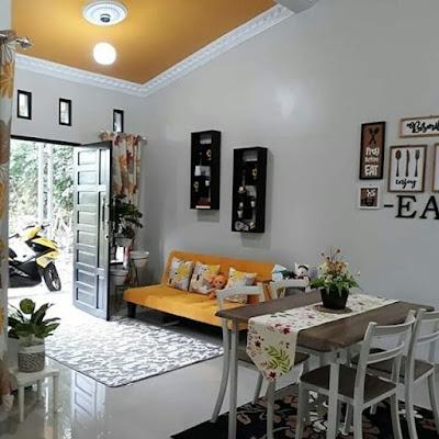 desain ruang keluarga terbuka