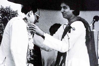 Amitabh-Rajiv Gandhi
