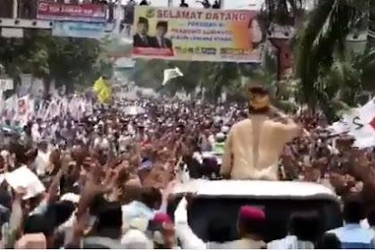 Kemenangan Semakin Dekat, Rakyat Riau Begitu Bersemangat Menyambut Pemimpin Baru Mereka.