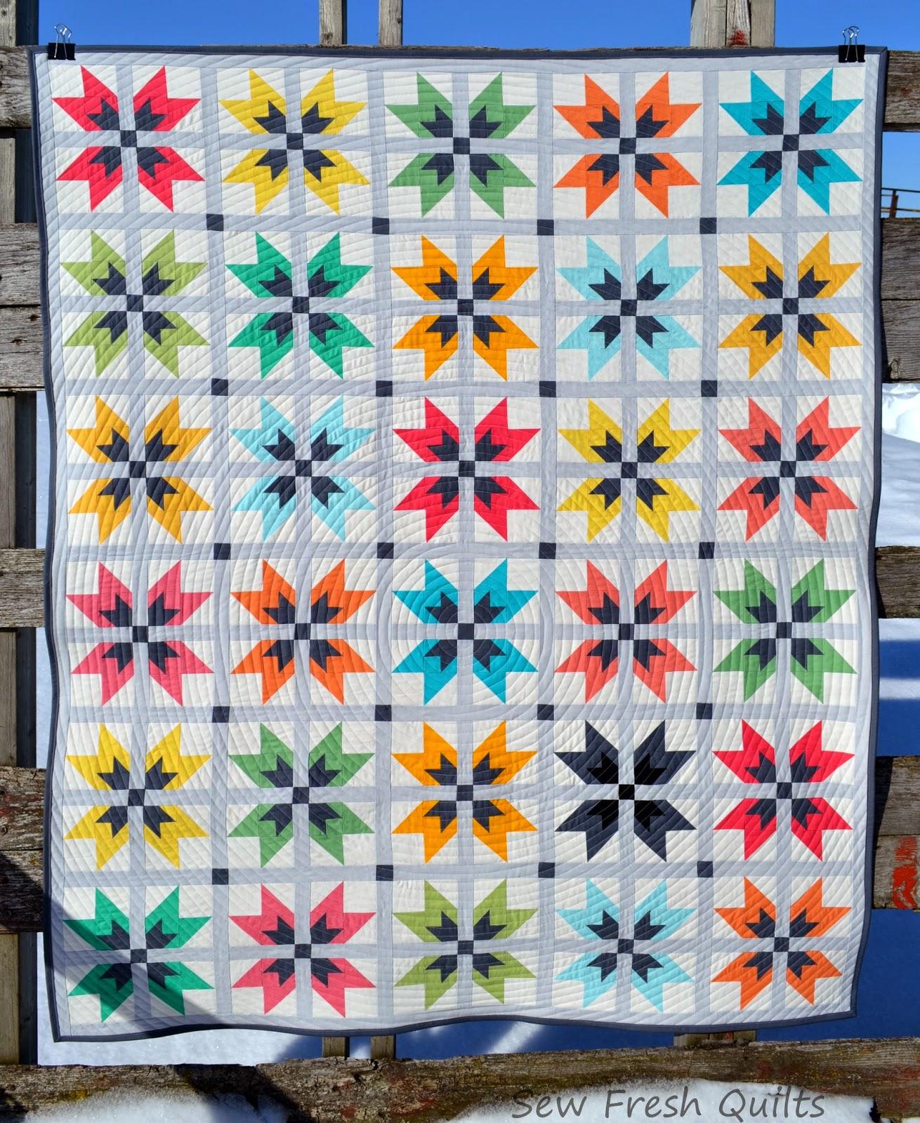 Sew Fresh Quilts: WoW-E! {a custom quilt} : custom photo quilts - Adamdwight.com