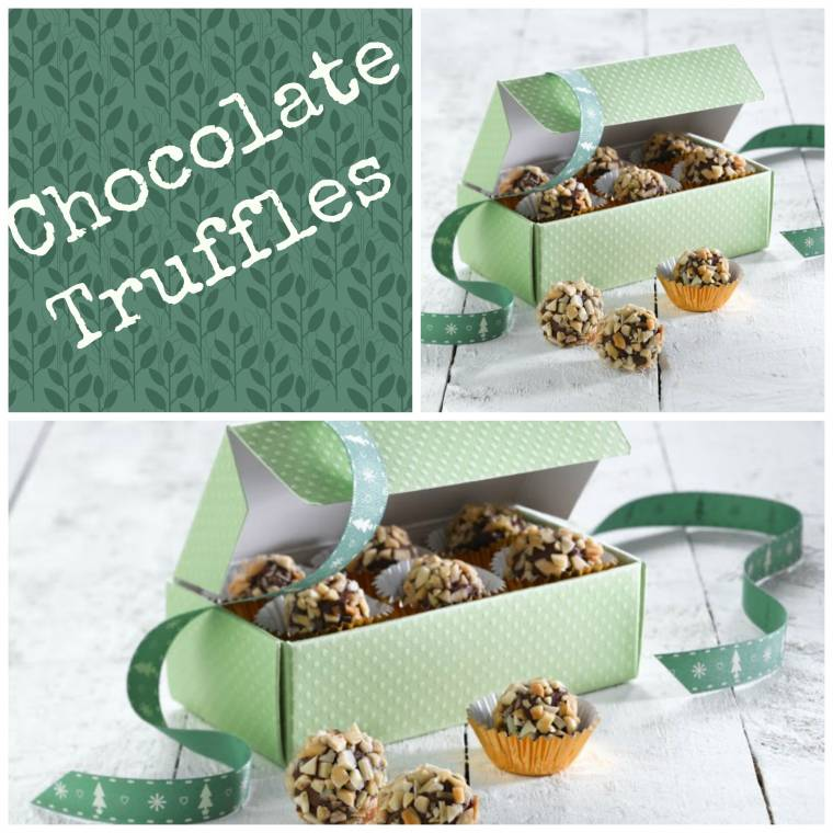Chocolate Truffles: Great For Homemade Christmas Gifts